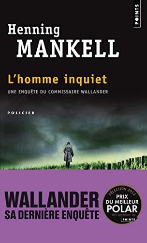 9782757825099: L'homme inquiet (Points Policier)