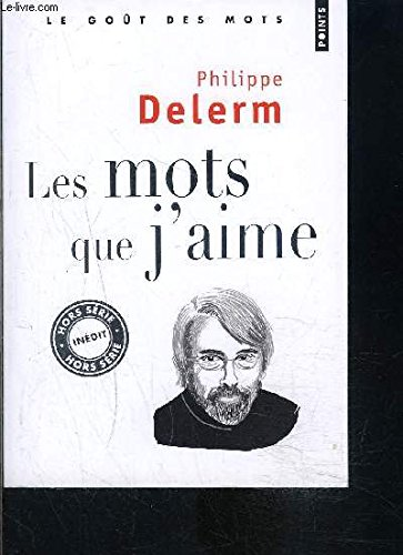 9782757836996: Mots Que J'Aime(les) (English and French Edition)
