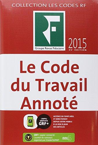 Code du Travail Annote 2015