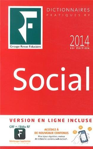 9782757904404: Dictionnaire Social 2014