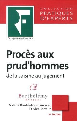 9782757904459: Proc�s aux prud'hommes : De la saisine au jugement