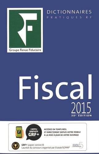 Dictionnaire Fiscal 2015