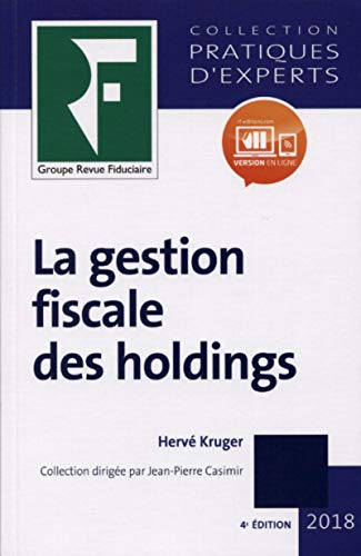9782757906545: Gestion fiscale des holdings 2018