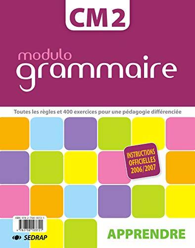 """""""modulo grammaire ; CM2 ; classeur exercices + classeur corrigés"""""""