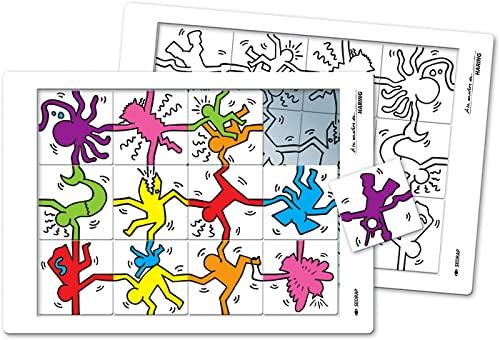 9782758107781: A la manire de... Keith Haring Tous niveaux (Le puzzle)