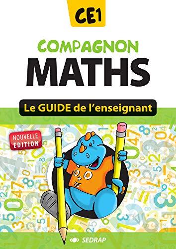 9782758114826: Compagnon Maths CE1 - le guide de l'enseignant - nouvelle version 2012