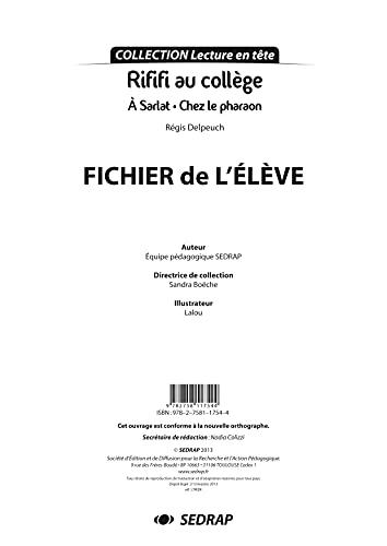 9782758117544: Rififi au collège : L'intégrale 20 volumes + Fichier de l'élève