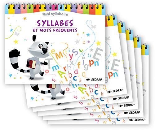 Syllabes et Mots Frequents - Mini-Syllabaire - Lot de 6: Collectif