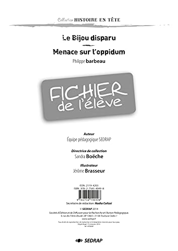 Le Bijou Disparu- Fichier