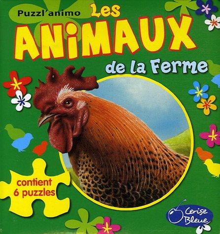9782758300052: Les animaux de la ferme (Puzzl'animo)