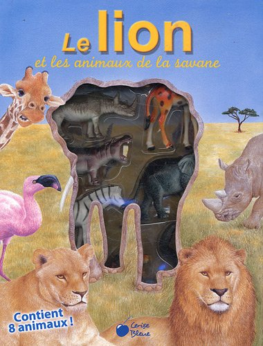 9782758302865: Lion et les Animaux de la Savane (la Vitrine)