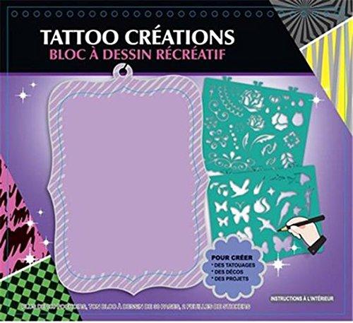 TATTOO CREATIONS BLOC A DESSIN RECREATIF