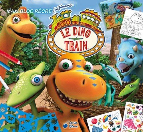 9782758309956: Maxi Bloc récré Dino Train (Le)
