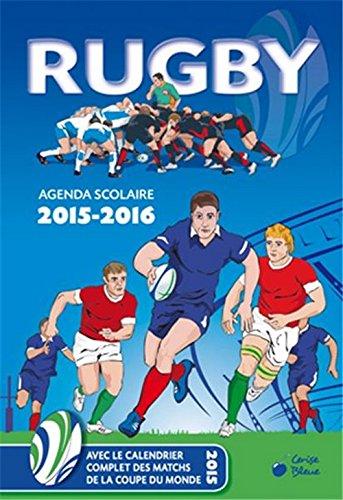 9782758310211: Agenda 2015-2016 Rugby