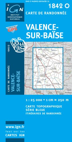 Valence-sur-Baise 1 : 25 000