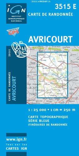 Avricourt 1 : 25 000