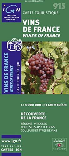 1M915 VINS DE FRANCE 1/1M: COLLECTIF
