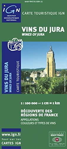 9782758501886: 83109 Vins du Jura  1/100.000
