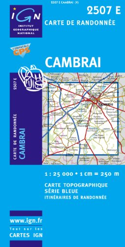 9782758502623: Cambrai (Ouest)/Marcoing GPS: Ign2507e