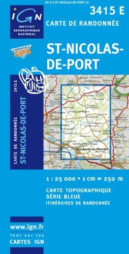 St-Nicolas-de-Port 1 : 25 000