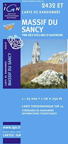 Massif du Sancy 1 : 25 000: IGN