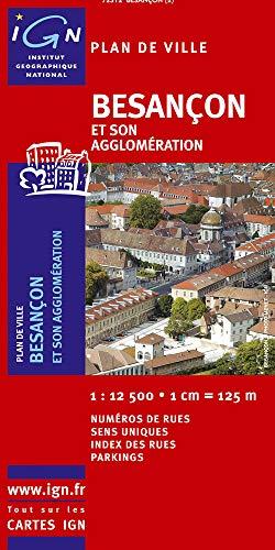 BESANCON ET SON AGGLOMERATION 72312: 1/12 500 IGN