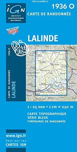 Lalinde 1 : 25 000