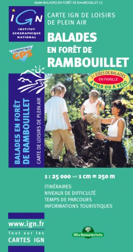 9782758504641: Rambouillet Balades En Foret Loisirs Pl Air: Ign82089