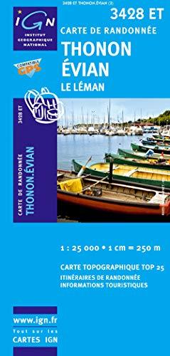 9782758504696: Thonon / Evian / Lac Leman GPS: Ign.3428et