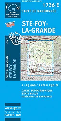 St-Foy-la-Gran 1 : 25 000