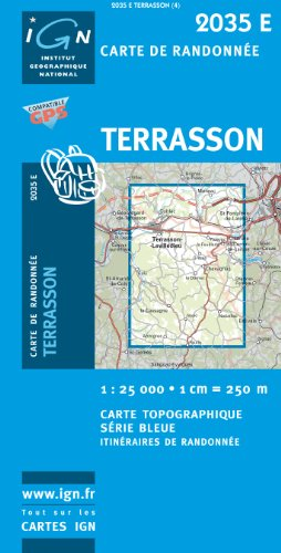 Terrasson 1 : 25 000