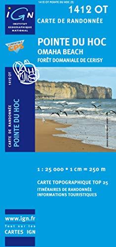 9782758505334: Pointe Du Hoc / Omaha Beach GPS: Ign.1412ot