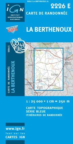 9782758505464: La Berthenoux GPS: IGN2226E