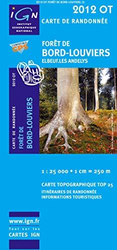 Forêt de Bord-Louviers 1 : 25 000
