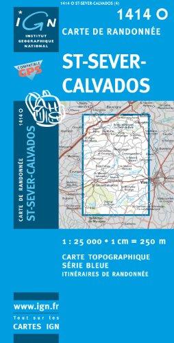 9782758506737: St-Sever-Calvados GPS: Ign1414o