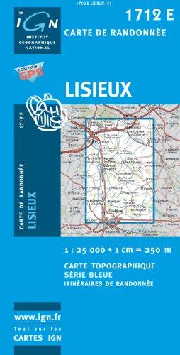 9782758506744: Lisieux GPS: Ign1712e