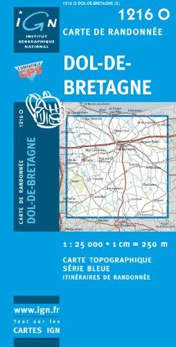 9782758508274: Dol-de-Bretagne GPS: IGN1216O