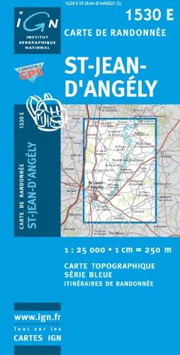 Saint-Jean-d'Angely 1 : 25 000