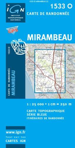 Mirambeau 1 : 25 000