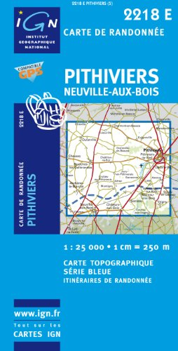 9782758508960: Pithiviers/Neuville-aux-Bois GPS: IGN2218E