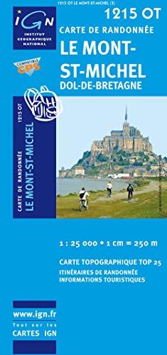 Le Mont-St-Michel / Dol-de-Bretagne 2008: IGN.1215OT: IGN Institut Géographique National