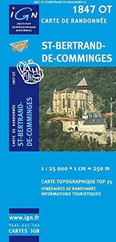 9782758510147: St-Bertrand-de-Comminges GPS: IGN.1847OT (Top 25 & série bleue - Carte de randonnée)