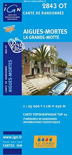 9782758510307: Aigues-Morte/La Grande-Motte GPS: IGN.2843OT