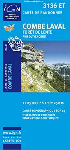 9782758510352: Combe Laval, Foret de Lente France 1:25,000 (French Edition)
