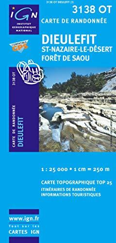 9782758510376: Dieulefit/Saint-Nazaire-le-Desert/Foret de Saou GPS: IGN.3138OT