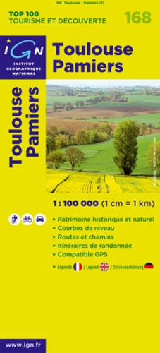 9782758511298: Toulouse/Pamiers: IGN.V168