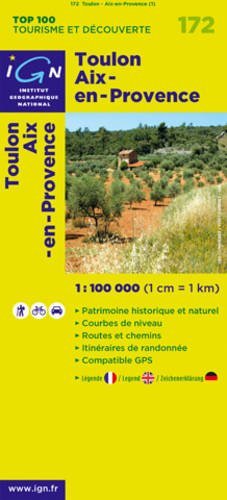 Toulon Aix-en-Provence (French Edition): Institut Geographiqe National