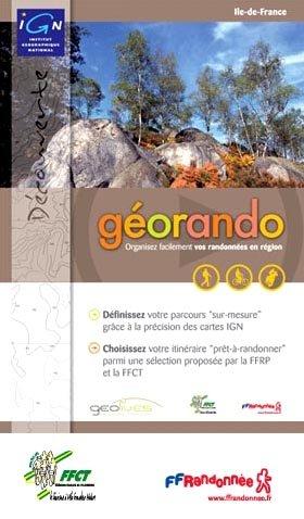 9782758511632: IGN G�orando Ile De France DVD de pr�paration de randonn�es