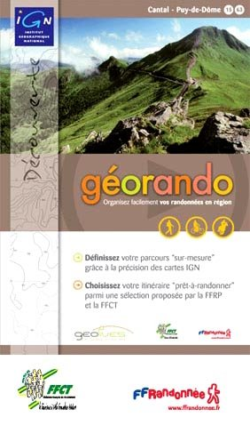 9782758511694: IGN G�orando Cantal et Puy De Dome DVD de pr�paration de randonn�es