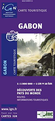 9782758512387: Gabon Map 1:1M (French Edition) IGN